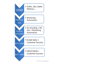 New Sales Process