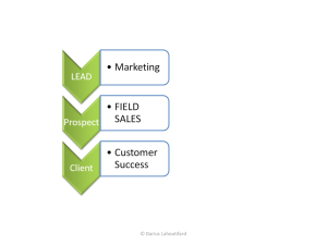 Old Sales Process
