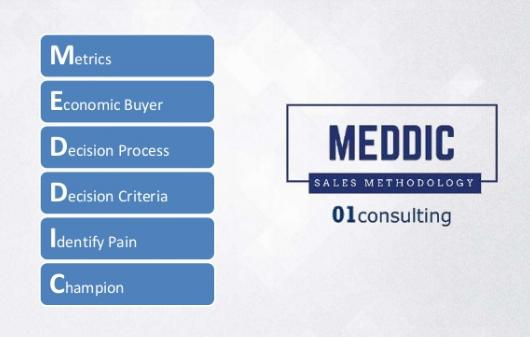MEDDIC SALES METHODOLY & CHECKLIST- Training Sales Forces